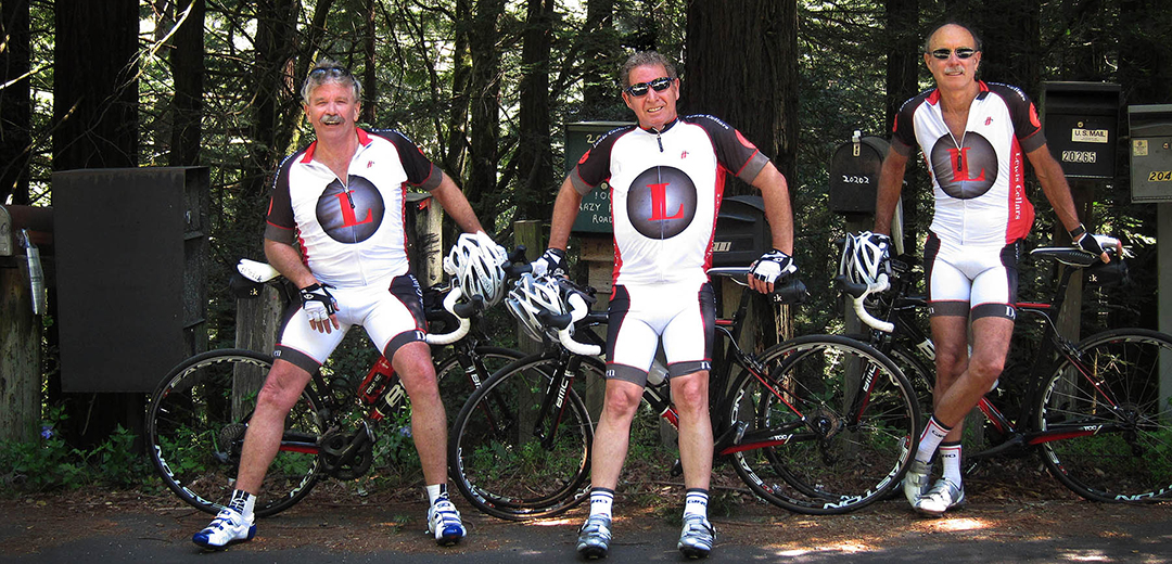 Taking a break on the Endue Bicycle Classic